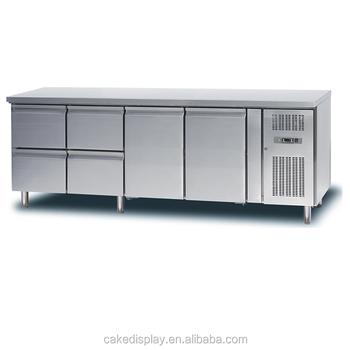 Kommerzieller Edelstahl Unterbau Kühlschrankfach Für Förderung