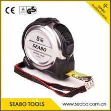 Hot selling abs+rubber steel tape measure for wholesales