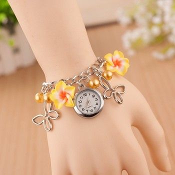 top sales yellow flower watch girl best birthday gift for kids christmas presents little girls wrist - What To Buy A Girl For Christmas