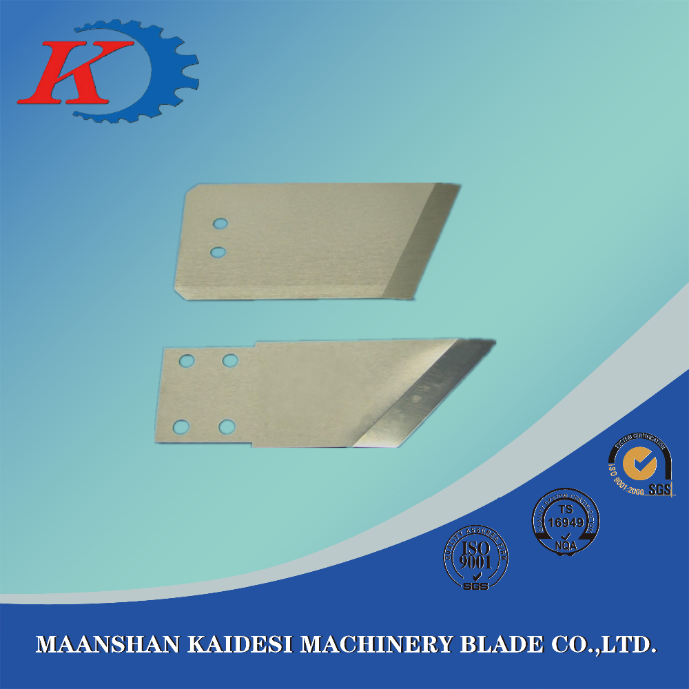 special shaped cutting rubber blade