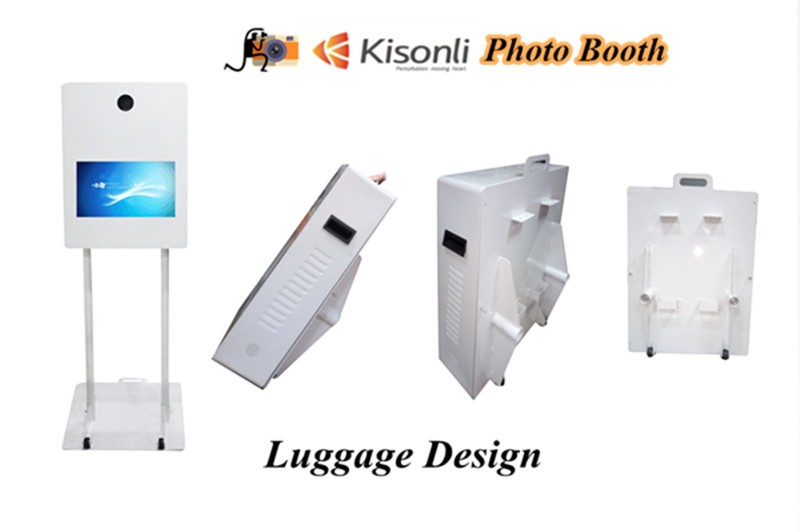 Hot sale Foldable Photo Booth With Software / Printer /Camera