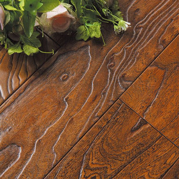 commercial use antique elm wood multilayer engineered flooring