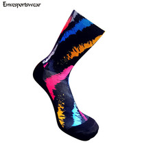 custom sublimation coolmax cycling socks