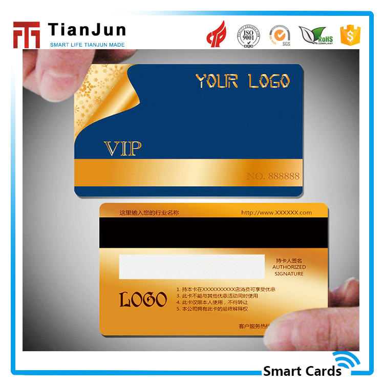 Custom fashional design programable 13.56MHZ rfid card