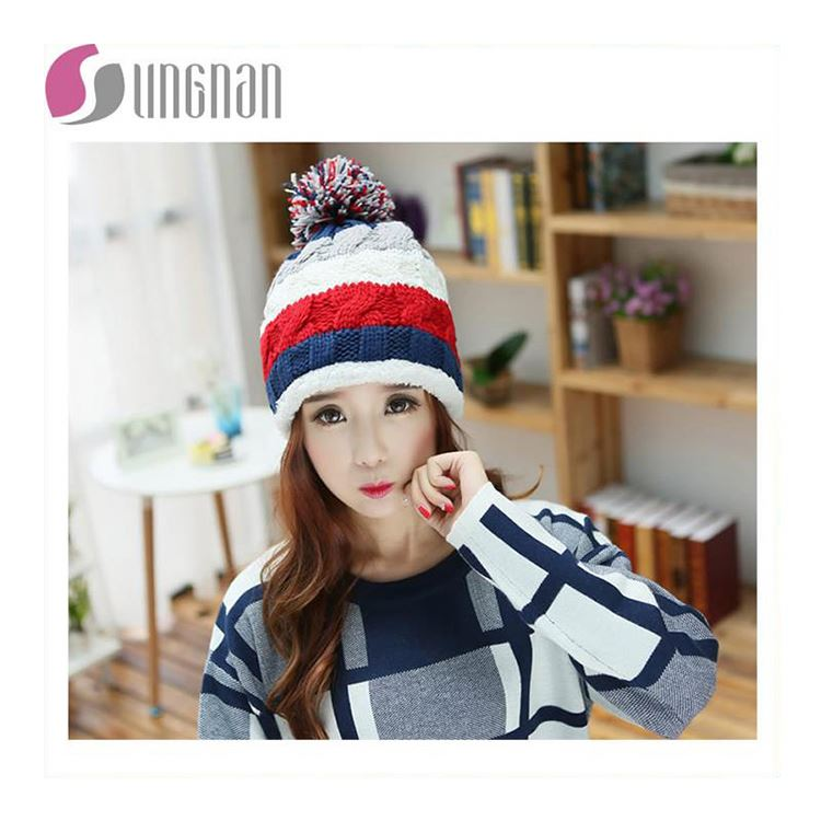 Winter Striped Knit Ski Face Mask Beanie For Kids Crochet Beard Hats  Balaclava Casquette Funny Children Hats - Buy Knitted Hat 90bc1d156ce