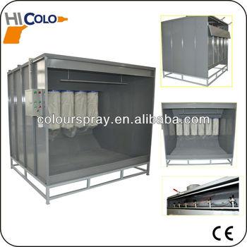 Powder coating machine paint spray booth used buy spray for Powder coating paint booth