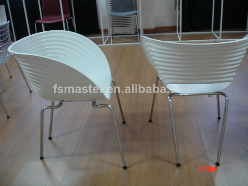 Hot sale plastic dining living room Tom Vac Chair