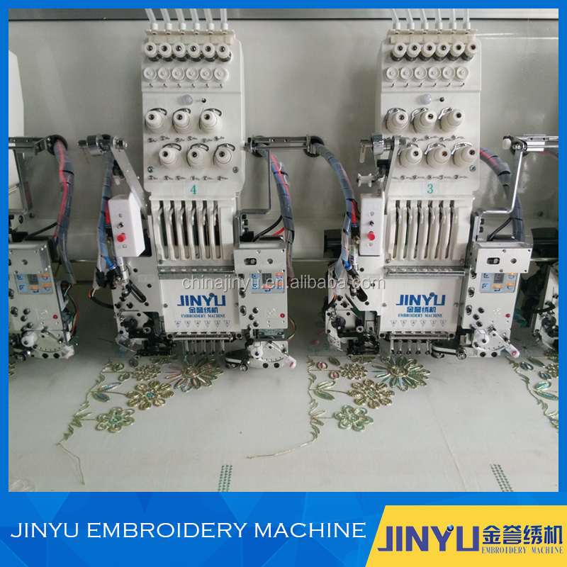 Specializing in the production of multi head small cross stitch embroidery machine
