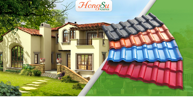 Synthetic Resin Roof Tile Synthetic Spanish Roof Tile