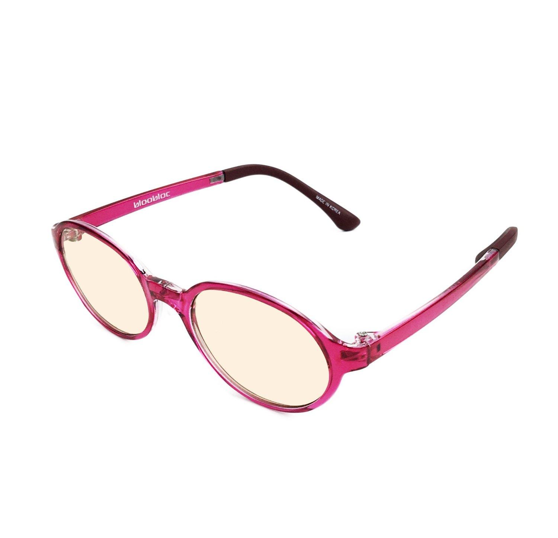 3b74b12914 Get Quotations · bloobloc Melanin Computer Reading Glasses For Kids   Teens  - Anti-Blue Light