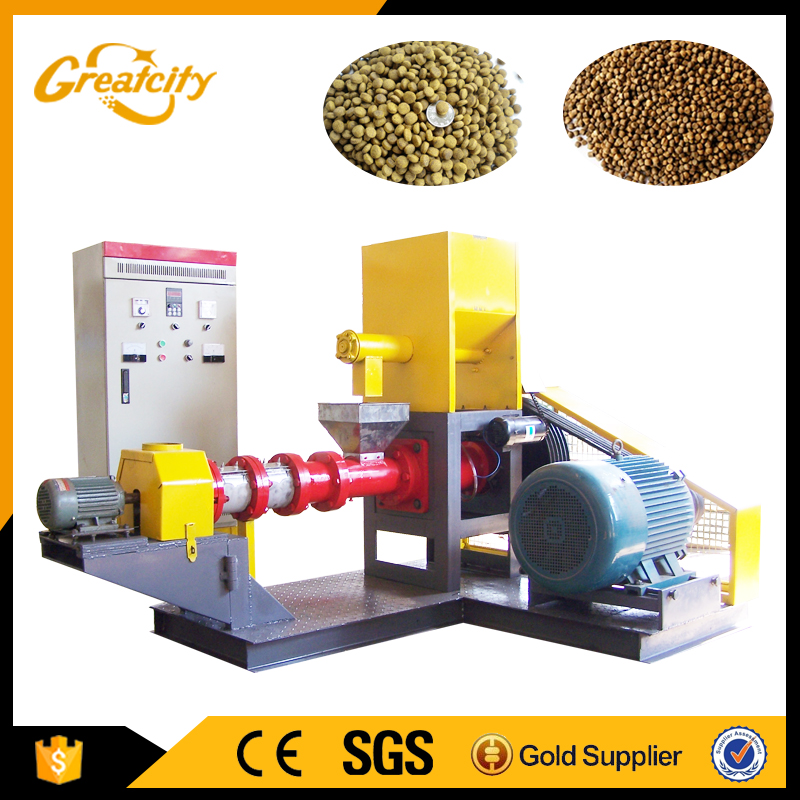High protein nutrient granular made from the pellet making machine