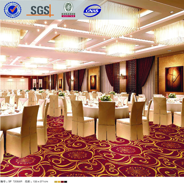 Modern Design Nylon Hotel Banquet Hall Flooring Carpet