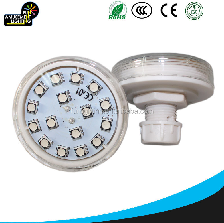 ac24v RGB changeable led light amusement led lighting rgb auto running for amusement rides
