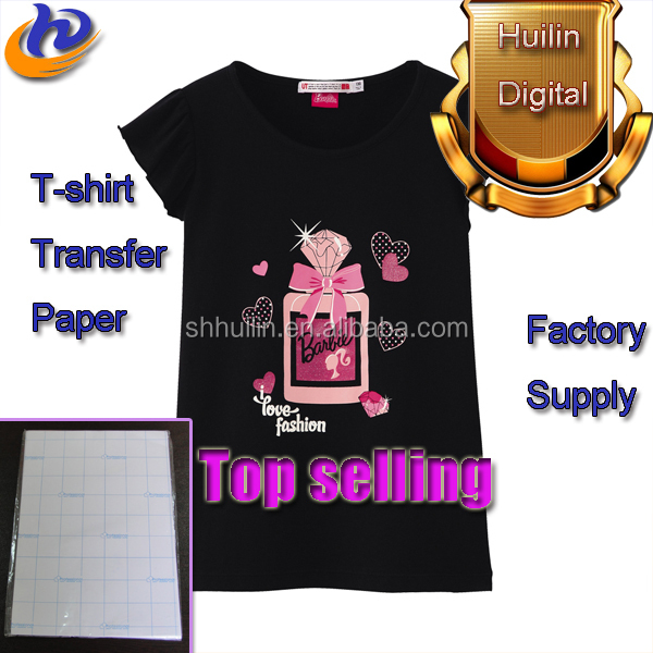 A3 A4 170g 300g Dark T-shirt Sublimation Paper For Dark Fabric
