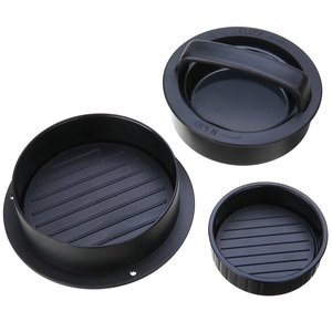 High Quality 3-in-1 Burger Press for Cooking