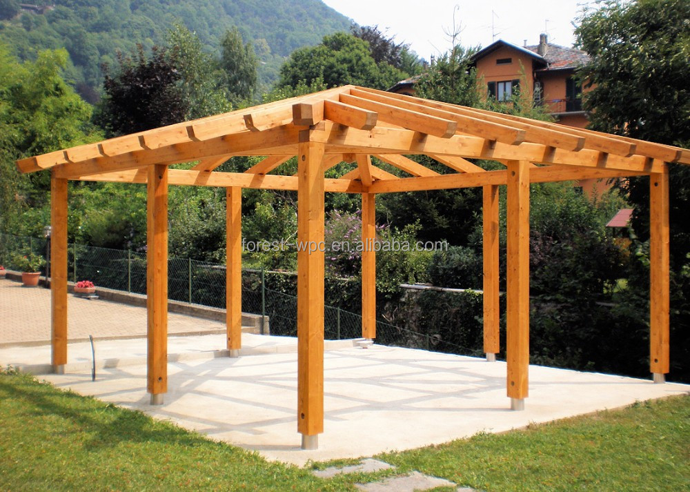 grande pavillon ext rieur en bois pergola gazebo pavillon pavillon ext rieur 3 x 3 m. Black Bedroom Furniture Sets. Home Design Ideas