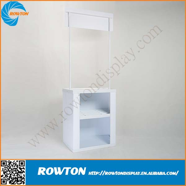 High Quality Modern Portable PVC Promotional Counter