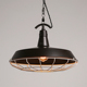 vintage industrial black color metal lampshade pendant light fixture for bar