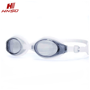 New style transparent lens advanced racing swim goggles anti fog
