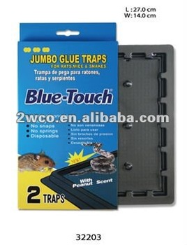 Jumbo Glue Traps-blue Box 2traps f - Buy Mouse Trap,Pest Control,Live  Animal Trap Product on Alibaba com