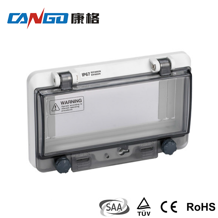 Kangge 0408B Transparent Contact Protection Window Hood for Distribution Box