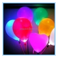 Led White Balloons For Wedding and Party Decorations/custom logo printed led balloons