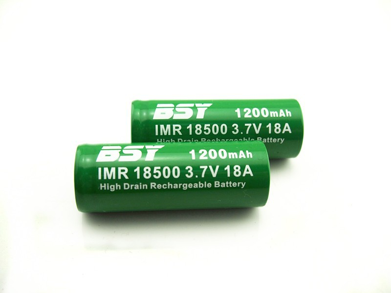 BSY purple 18500 18amp 18500 BSY imr 18500 battery 1200mah BSY 18500 li-ion batery for ecig mod BSY 18500