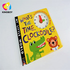 shape punch book board book children book printing
