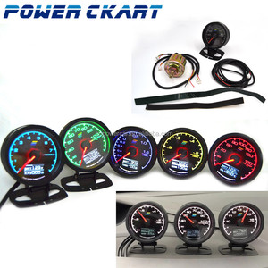 Universal Gredy 62mm Auto Boost Turbo Gauge Hot Sale Digital Gauge With 7 LED Light Selections