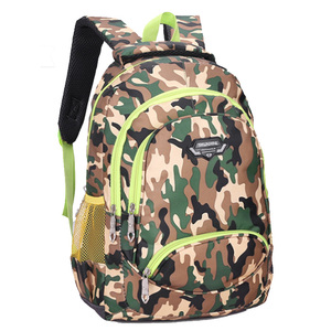 Top Wholesale Military Camouflage Children Backpack School Bags Export