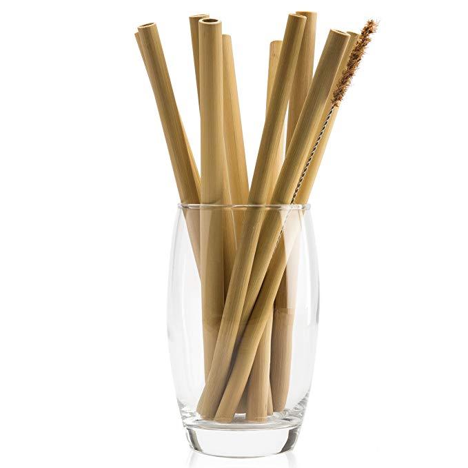 Organic Bamboo Drinking Straws