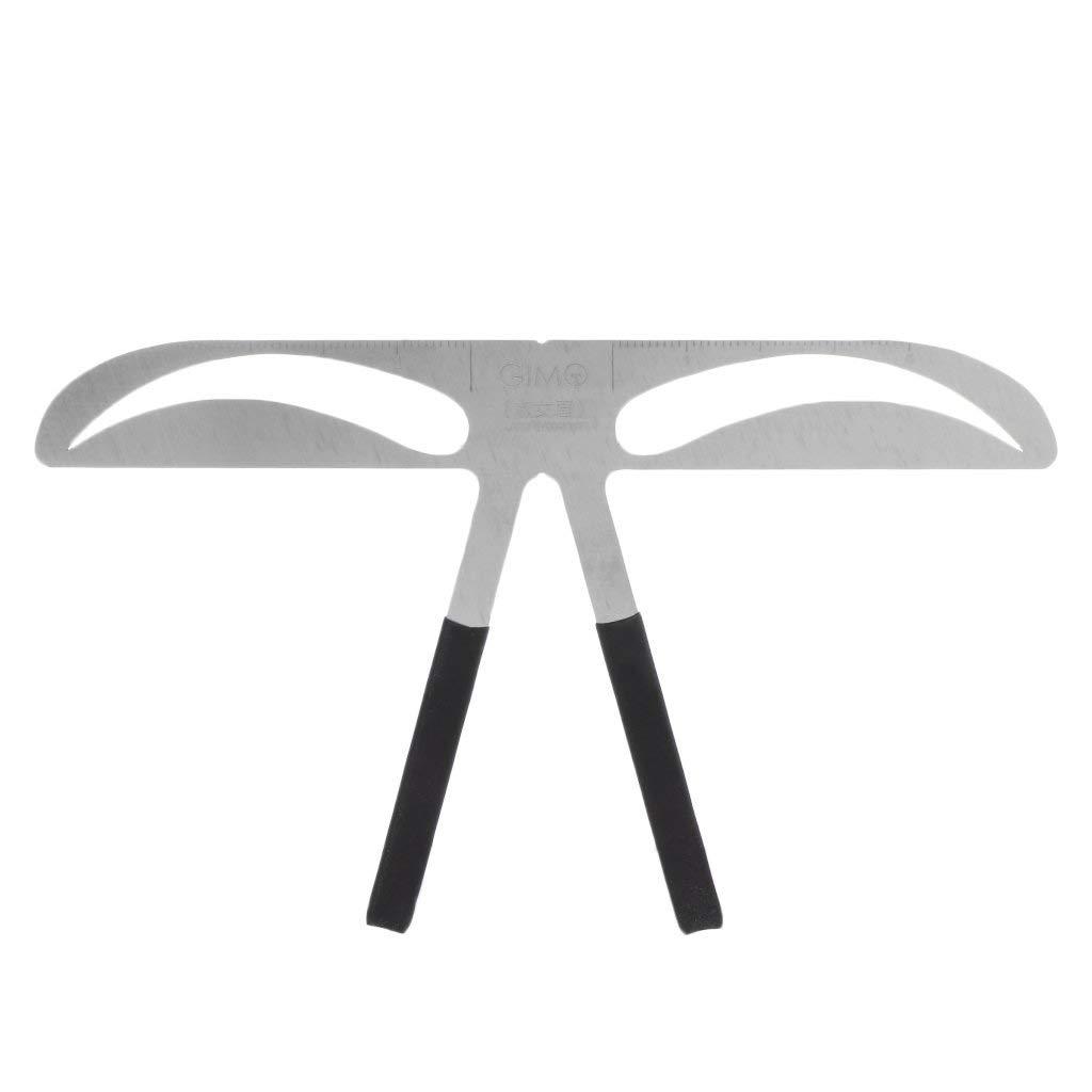 JUA PORROR Professional Eyebrow Stencil Ruler For Eyebrows Measuring Permanent Makeup Tools (3)