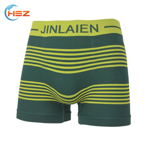 HSZ-0039 Korea Mens Sexy Seamless Underwear Manufacturing Stylish Custom Made Boxer Briefs High Quality Mature Shorts