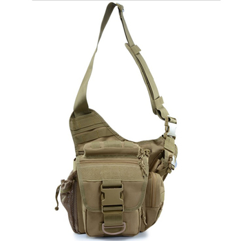 CYSHMILY New Camera Bag Army Fan Tactical Saddle Bag Pocket Outdoor Recreation Single Shoulder Messenger Bag Sports