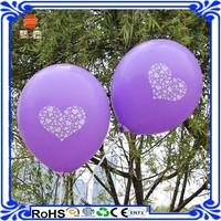 globe valentines day printed balloon wedding balloon for decoration