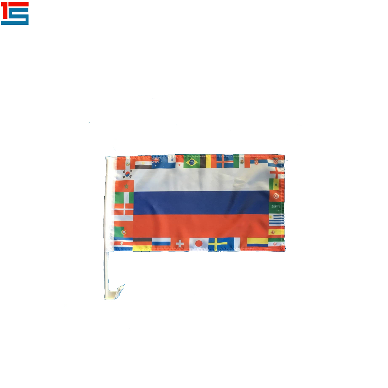 Copa do mundo hot vendas 3 * 5ft poliéster bandeira Oman