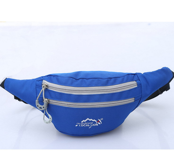 Free Shopping Outdoor Sports Bag Breathable Nylon Purse Portable Multifunctional Tourism Riding On Foot Leisure Waist Bag