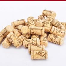 Straight Bottle Wood Corks Wine Bottle Stopper Corks Wine Stoppers Bottle Plug Bar Tools Wine Cork Wooden Sealing Caps