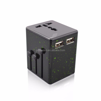 Alibaba France electrical plugs sockets passport global travel adapter with auto-resetting fuse electrical plugs sockets