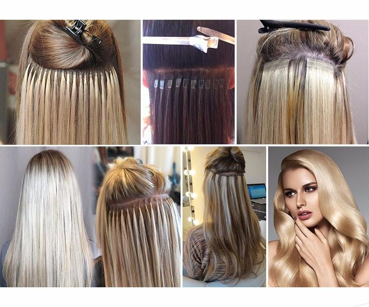 Extensão de cabelo humano brasileira de boa qualidade barata
