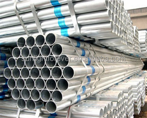 Mild Carbon hot rolled high pressure oil pipe, Galvanized steel pipe For Metal Building