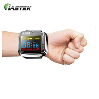 digital high blood pressure laser therapy wrist watch for home use