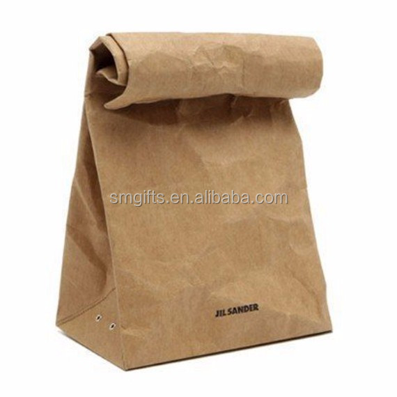 Brown Paper Bag Hand Jil Sander