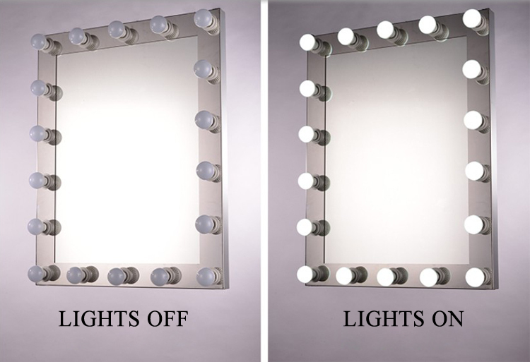 2015 Newest Hollywood Makeup Mirror With Led Lights For Beauty ...