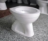 John ceramic sanitary ware one piece toilet seat