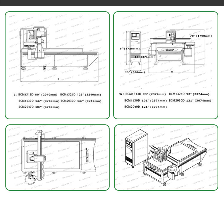 3d engraving machine 1500*3000 5'*10'feet atc cnc router