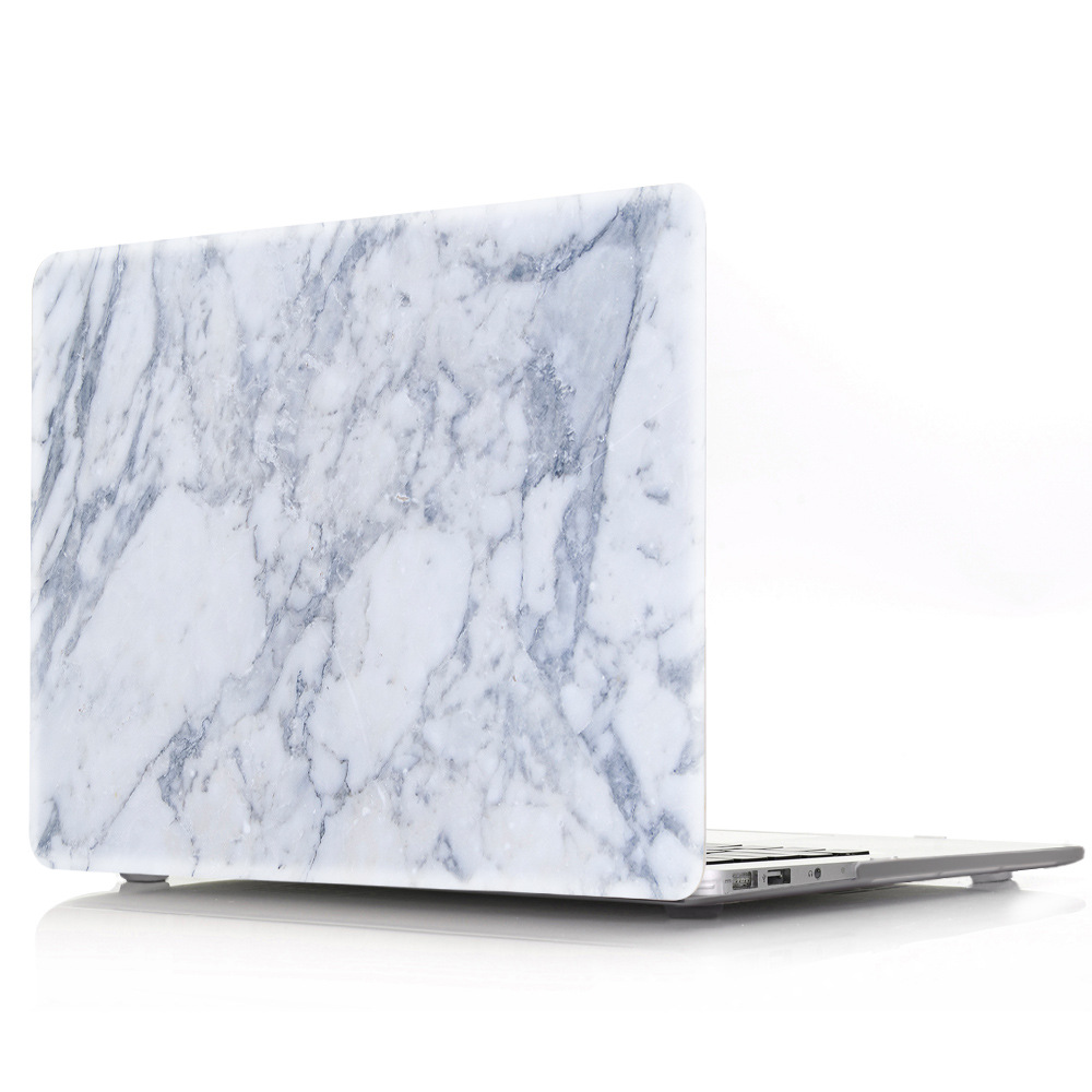 Hot marble computer case for macbook, laptop marble rugged cover 11 13 15 inch, factory cheap custom case for macbook notebook