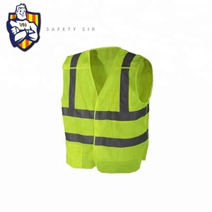 Reflective Running Safety Vest Work Clothing