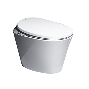 Automatic sensor flushing electric tankless intelligent smart toilets