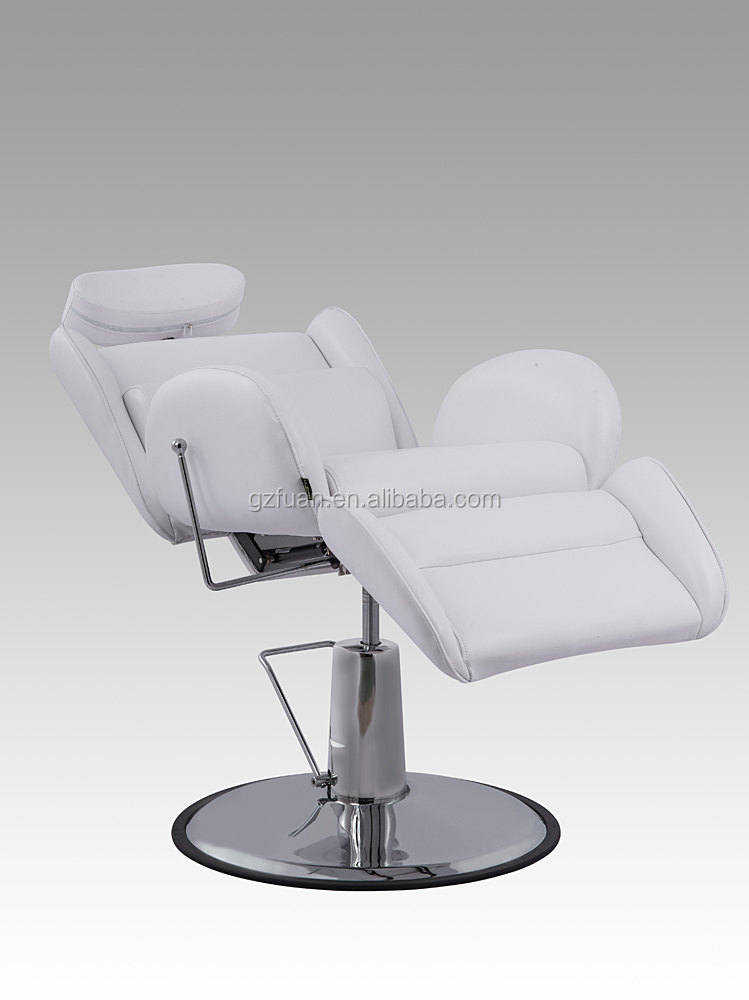 Luxury salon furniture white beauty menu0027s hair barber footrest portable colored reclining salon styling chair & Luxury Salon Furniture White Beauty Menu0027s Hair Barber Footrest ... islam-shia.org